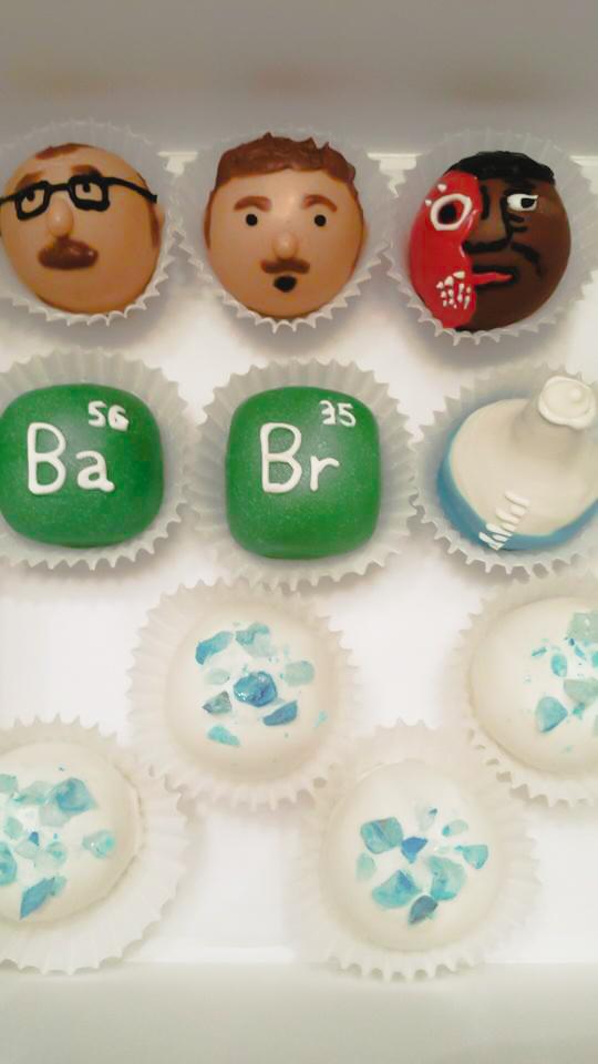 Breaking Bad Cake Balls